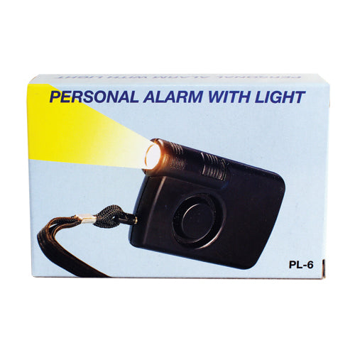 130 db Personal Alarm with Flashlight