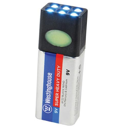 Blocklite 9-Volt Battery LED Flashlight