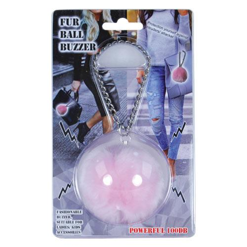 Fur Ball Buzzer Pink