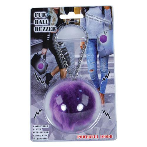 Fur Ball Buzzer Purple