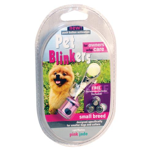 Pink & Jade Pet Blinker Pet Safety Light