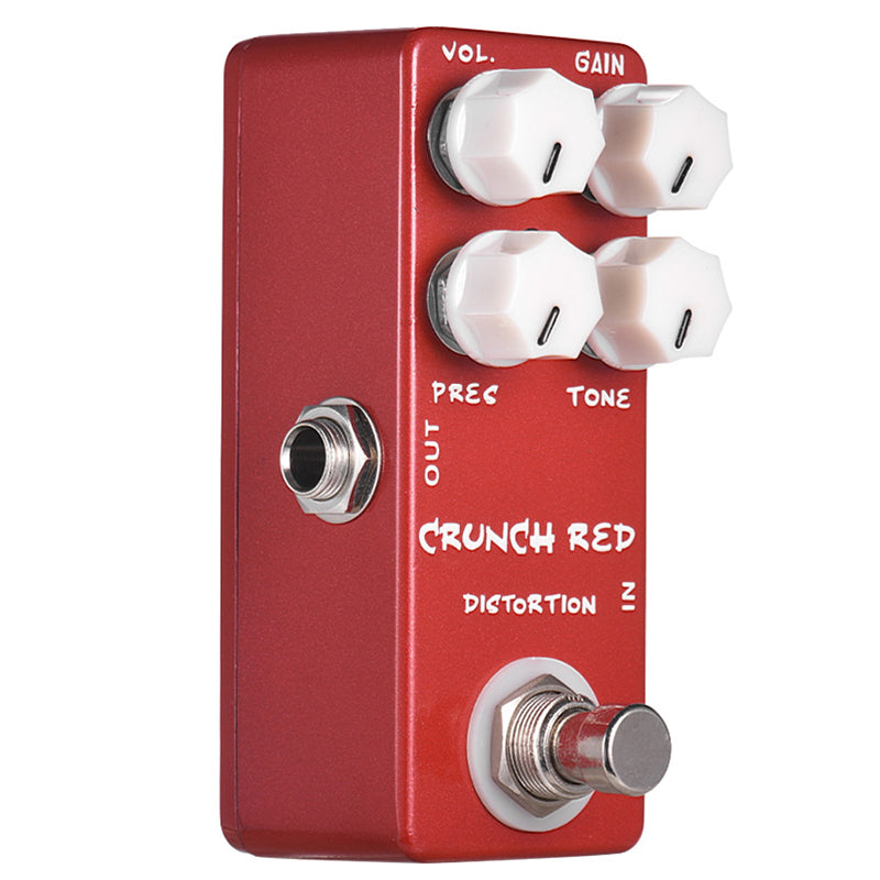 Mosky Crunch Red Distortion Guitar Effect Pedal