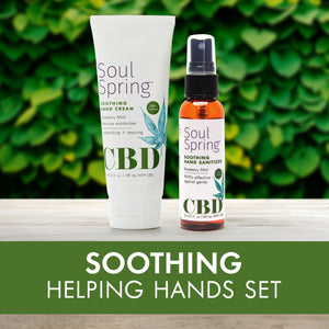 SoulSpring™ Hemp CBD-Infused Botanical Therapy launches hand sanitizer to help medical heroes on the frontlines