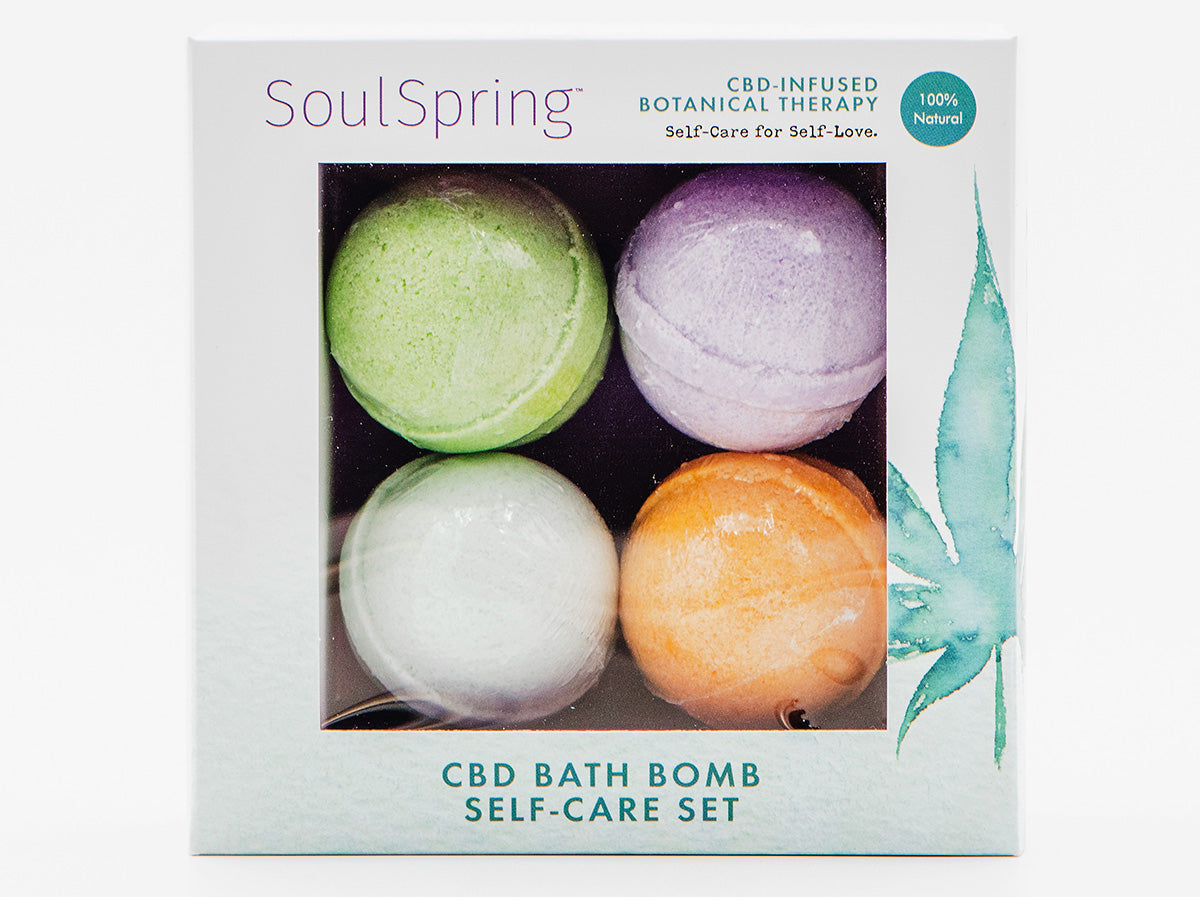 Bath Bomb Self-Care Gift Set