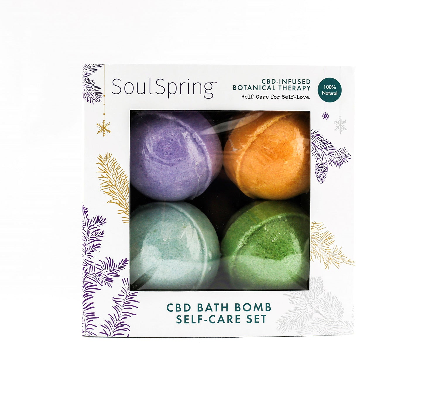 Bath Bomb Holiday Gift Set NEW!