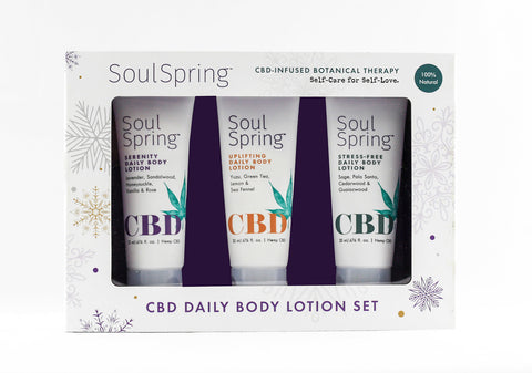 Daily Body Lotion Holiday Gift Set NEW!