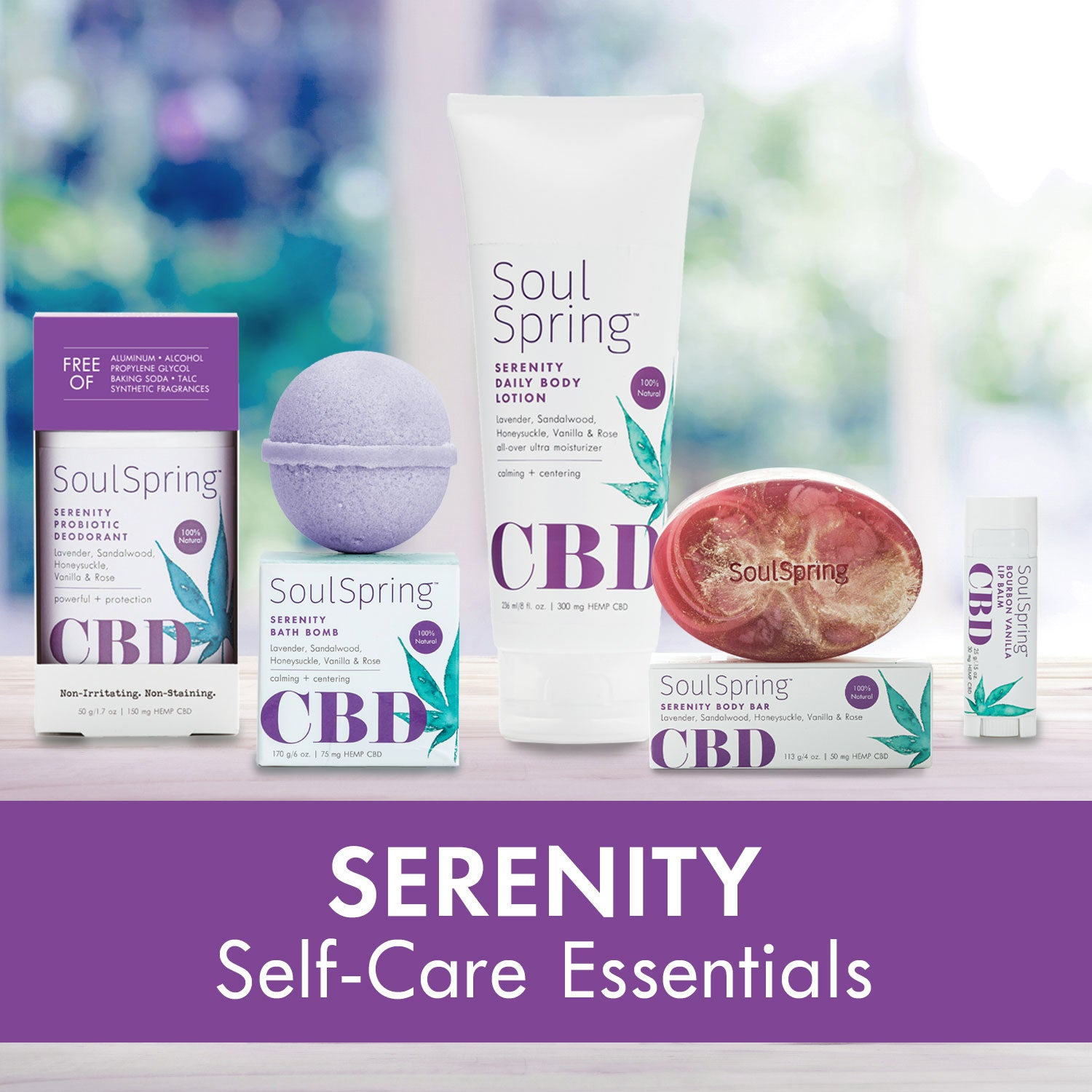 Serenity Self-Care Essentials – NEW!