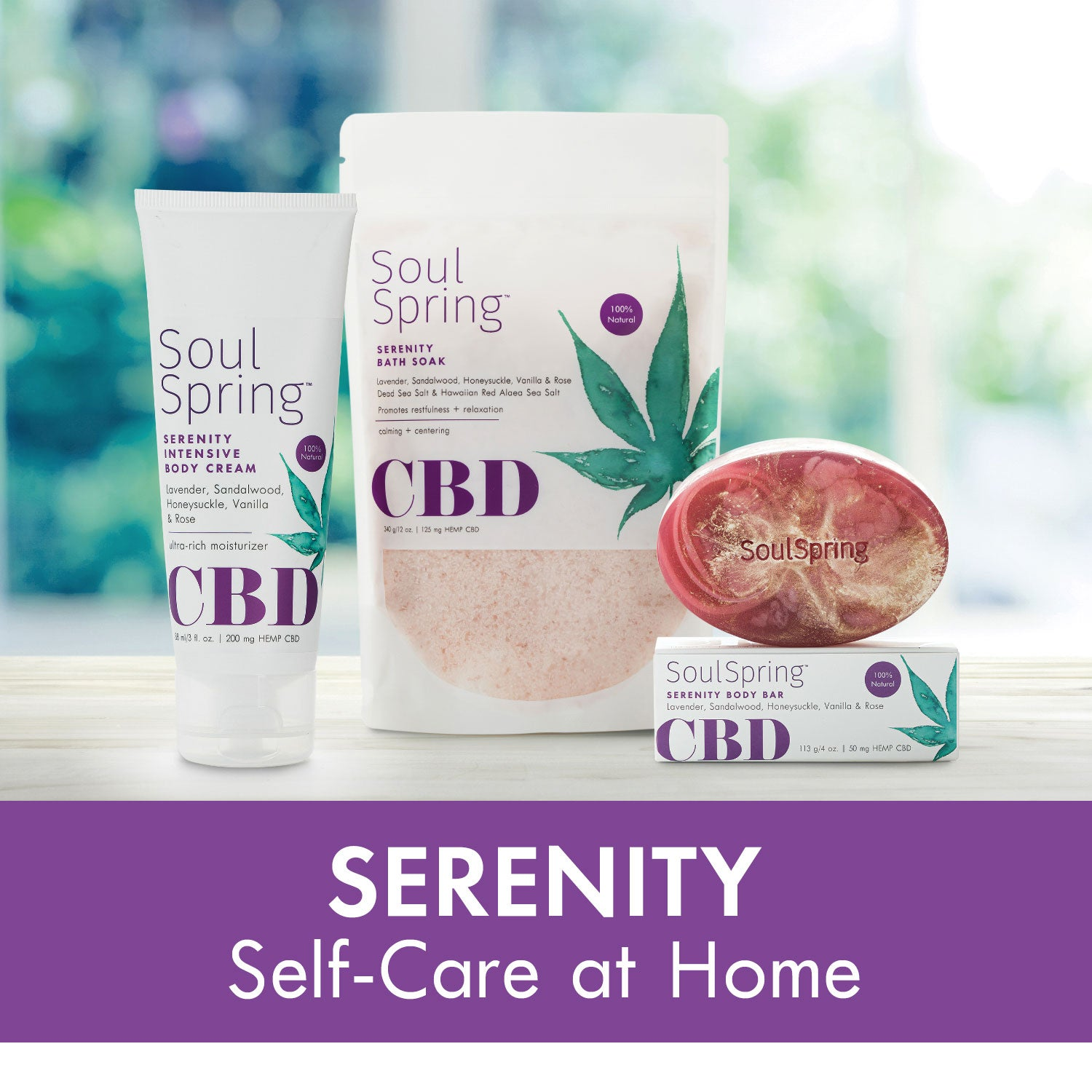 Serenity Self-Care at Home Set