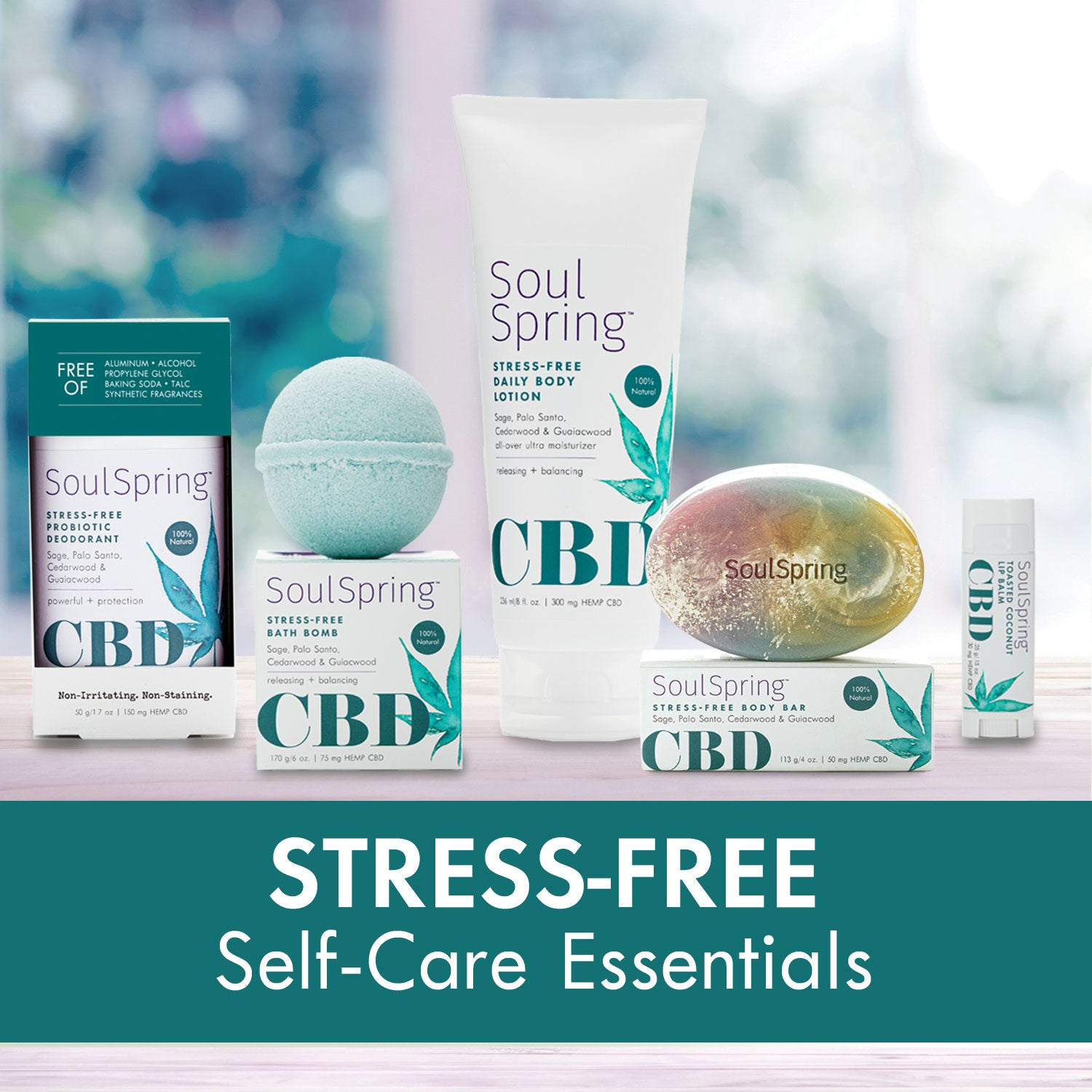 Stress-Free Self-Care Essentials – NEW!