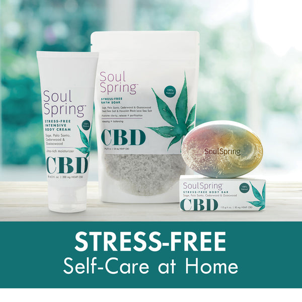Stress-Free Self-Care at Home Set