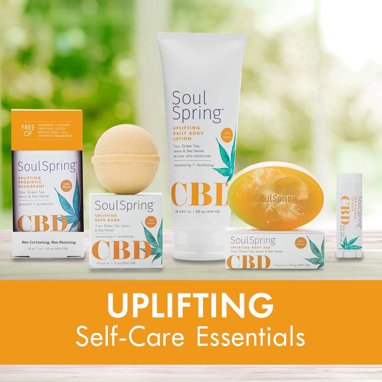 Uplifting Self-Care Essentials – NEW!