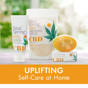 Uplifting Self-Care at Home Set