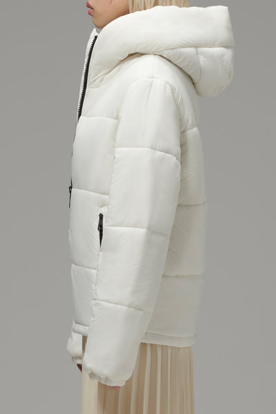 Ladies' High Collar Puffer
