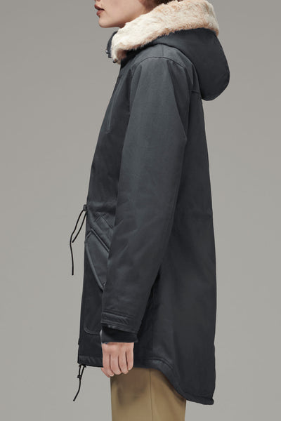 Ladies' HoodLamb Parka