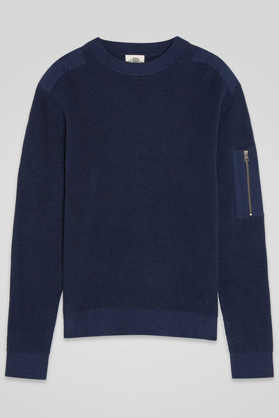 Men's Patch Sweater