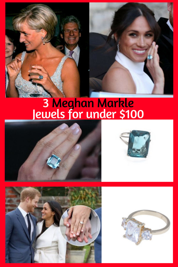 Meghan Markle Replica Wedding Jewelry