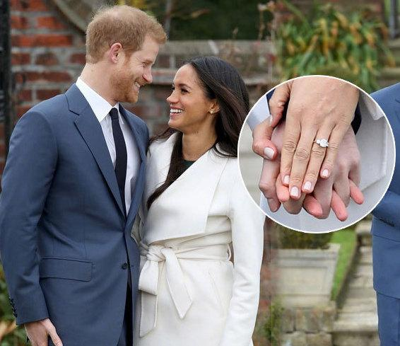 Meghan Markle Royal Engagment Ring Replica