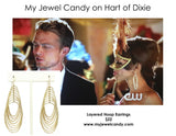 Layered Hoop Earrings (As seen on Selena Gomez & in People Style Watch Magazine) - My Jewel Candy - 8