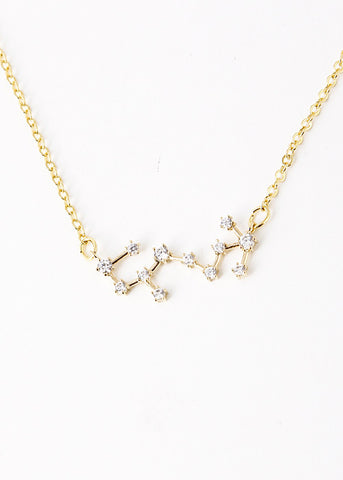 Scorpio Constellation Zodiac Necklace (10/24-11/22) - As seen in Real Simple & People Magazine - My Jewel Candy - 1