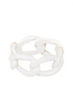 Mint Dipped Chain Link Ring - My Jewel Candy - 3