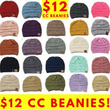 CC Beanie (24 Colors) - My Jewel Candy