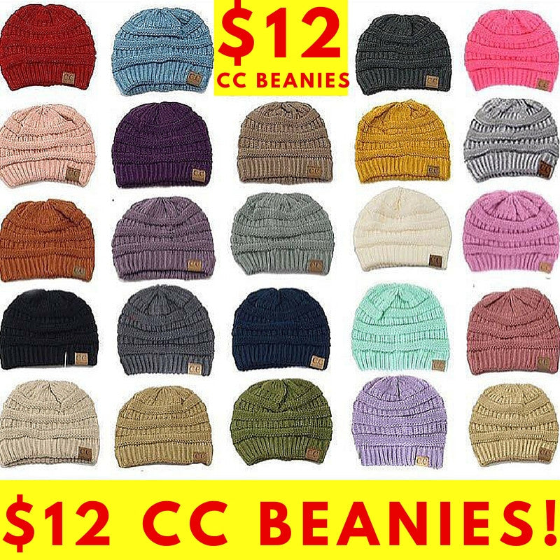 Add 2 More Beanies for just $8 each! (type the 2nd color in order notes) - My Jewel Candy