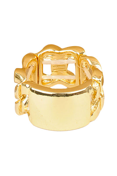 Gold ID Chain Ring - My Jewel Candy