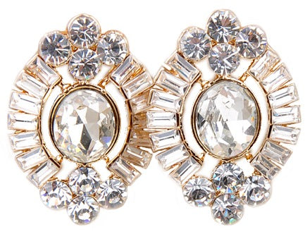 Gatsby Collection Gemstone Earrings - My Jewel Candy