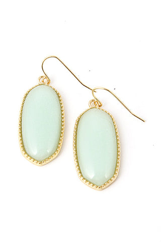 Mint Drops Earrings - My Jewel Candy