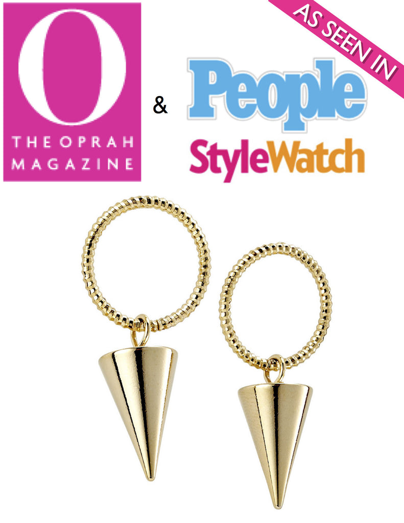 Jewel Candy Cone Earrings (As seen in Oprah Magazine) - My Jewel Candy - 1