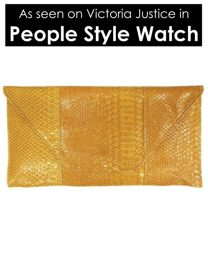 Faux Crocodile Clutch Purse Bag - My Jewel Candy - 1