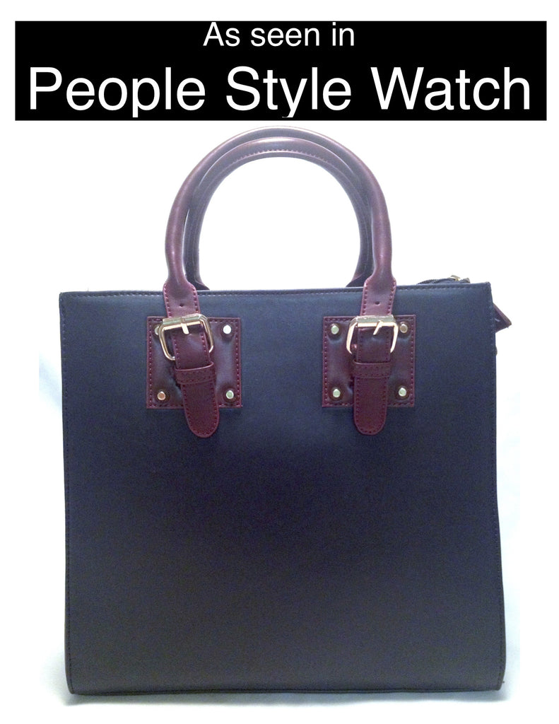 Work Tote Bag (As Seen in People Style Watch) - My Jewel Candy - 1