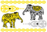 Bali Candy Temporary Jewelry Tattoos II (includes 4 sheets with 4 styles) - My Jewel Candy - 3