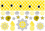Bali Candy Temporary Jewelry Tattoos (includes 4 sheets with 4 styles) - My Jewel Candy - 4