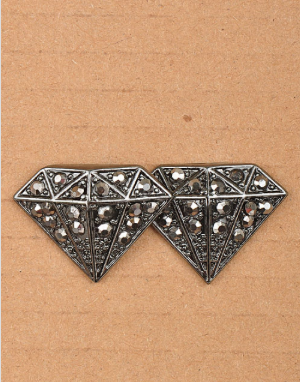 Black Diamond Earrings - My Jewel Candy
