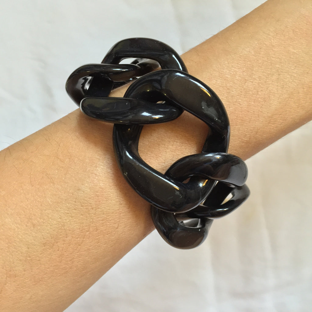 Black chain Bracelet - My Jewel Candy