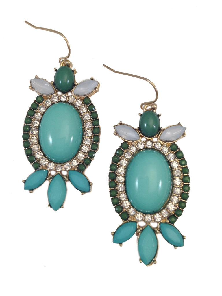 Mint Turtle Earrings - My Jewel Candy