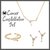 Cancer Zodiac Jewelry Constellation Holiday Gift Set