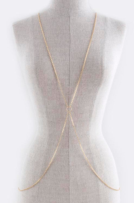 Gold Body Chain - My Jewel Candy - 1
