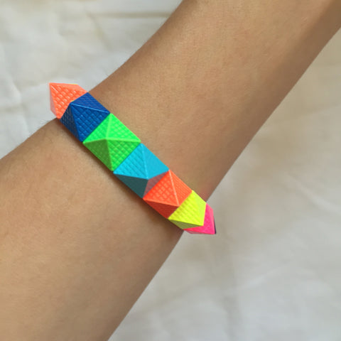 Coloured spike5 Bracelet - My Jewel Candy