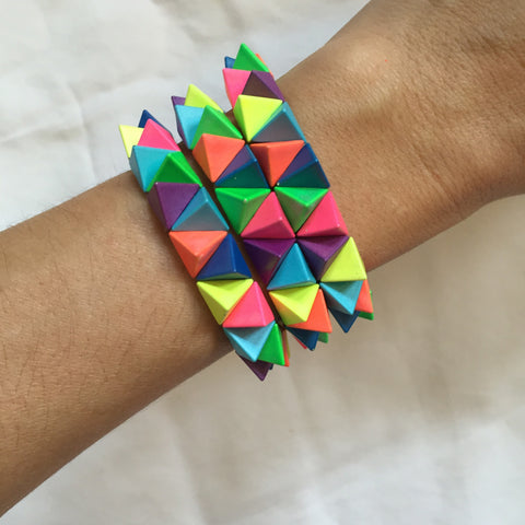 Coloured spike Bracelet - My Jewel Candy