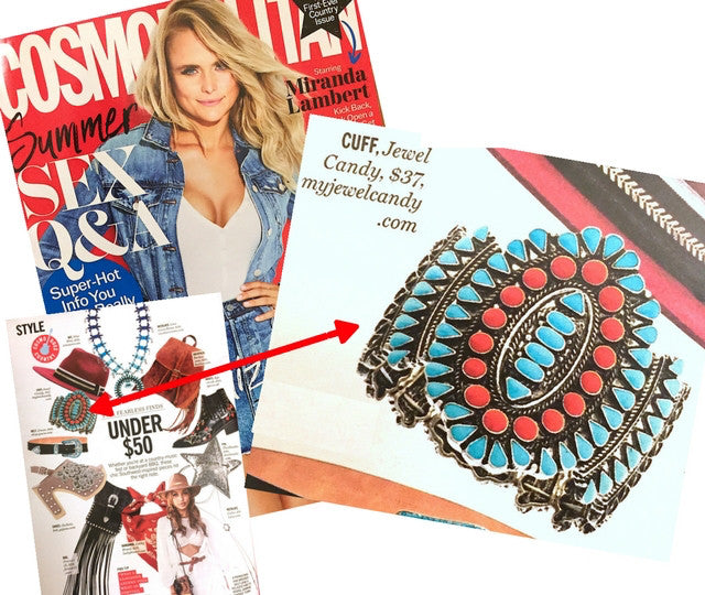 Go West Bracelet (As Seen in Cosmopolitan Magazine)