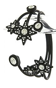 Crystal Encrusted Star Cuff - My Jewel Candy