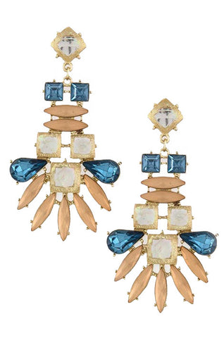 Denim & Bellinis Earrings - My Jewel Candy