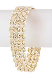 Etched Chain Link Bracelet - My Jewel Candy - 1