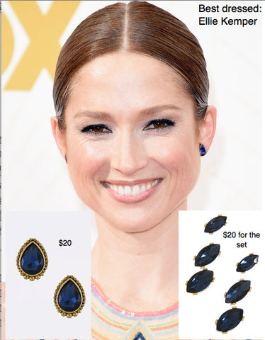 Ellie Kemper's Emmy Earrings for Less - My Jewel Candy