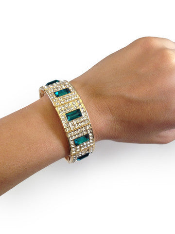 Emerald Bracelet - My Jewel Candy