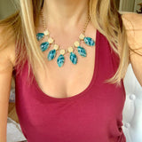 Jade Acrylic Necklace