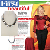Pegasus Gemstone Necklace (As seen on Edie Falco in First for Women)
