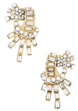 Gatsby Collection Crystal Burst Earrings - My Jewel Candy - 2